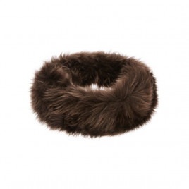 Hortons Oakley Ladies Sheepskin Headband - Brown