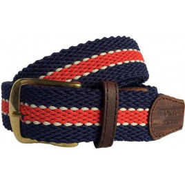 Hortons Dorchester Belt Red & Navy