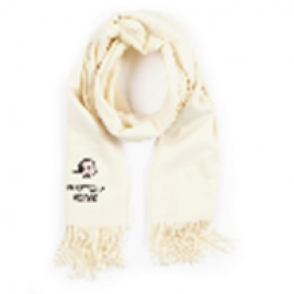 Moschino Boutique Olive Oyl Scarf - Cream