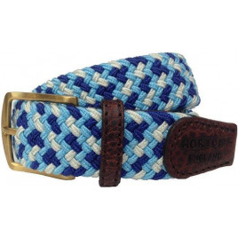 Hortons Sky Blue, Cream & Navy Foxton Belt