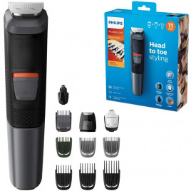 Philips - 11-in-1 Multigroom Trimmer for Face, Hair and Body MG5730/33