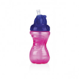Nuby - Easy To Grip Flip It No Spill Cup Purple 300ml