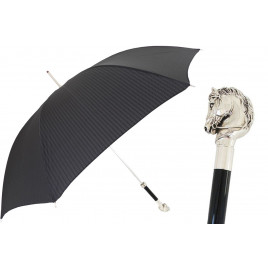 Pasotti Umbrella for Men with Horse Handle (includes gift box)