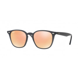 Ray-Ban RB4258 Sunglasses - Black with Orange Lenses