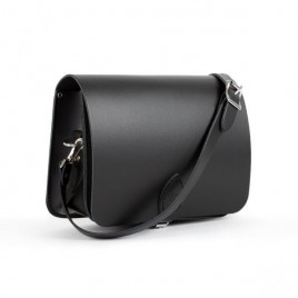 Gweniss Riley Saddle Bag - Matte Black