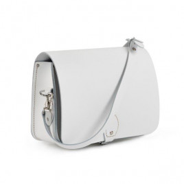 Gweniss Riley Saddle Bag - White