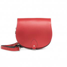 Gweniss Avery Saddle Bag - Scarlet Red