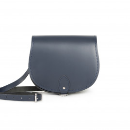 Gweniss Avery Saddle Bag - Navy Blue