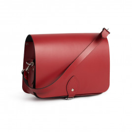 Gweniss Riley Saddle Bag - Scarlet Red