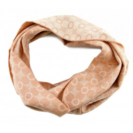Glencroft - 100% Cashmere Premium Rose Coloured Cowl