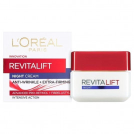 L'Oréal Revitalift Anti-Wrinkle Night Cream - 50ml