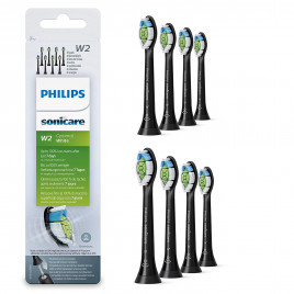 Philips HX6068/13 - Black Sonicare Replacement Brush Heads (8PK)