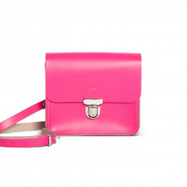 Gweniss Sofia Crossbody Bag - Bright Pink