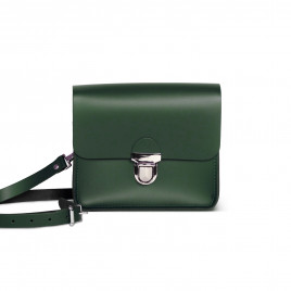 Gweniss Sofia Crossbody Bag - Bottle Green