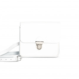 Gweniss Sofia Crossbody Bag - White