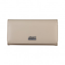 Armani Collezioni Women's Leather Wallet -  Beige