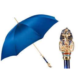 Pasotti - Luxury Umbrella with Tutankhamon Handle