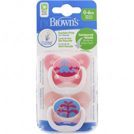 Dr Brown - Options+ Prevent Soother Pink