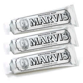 Marvis - Toothpaste Whitening Mint (85ml) 3 Pack