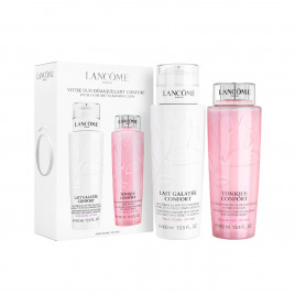 Lancome Wash The Day Off Set - Galatee Confort 400ml & Tonique Confort 400ml