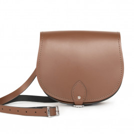 Gweniss Avery Saddle Bag - Brown
