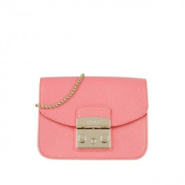 Furla Metropolis Mini Crossbody - Rosa Quarzo C