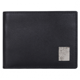 Versace Mens Wallet Vitello Saffiano - Black