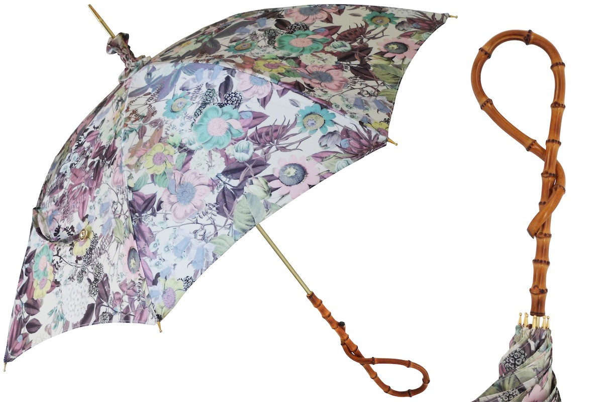 Pasotti Manual Opening Flower Parasol