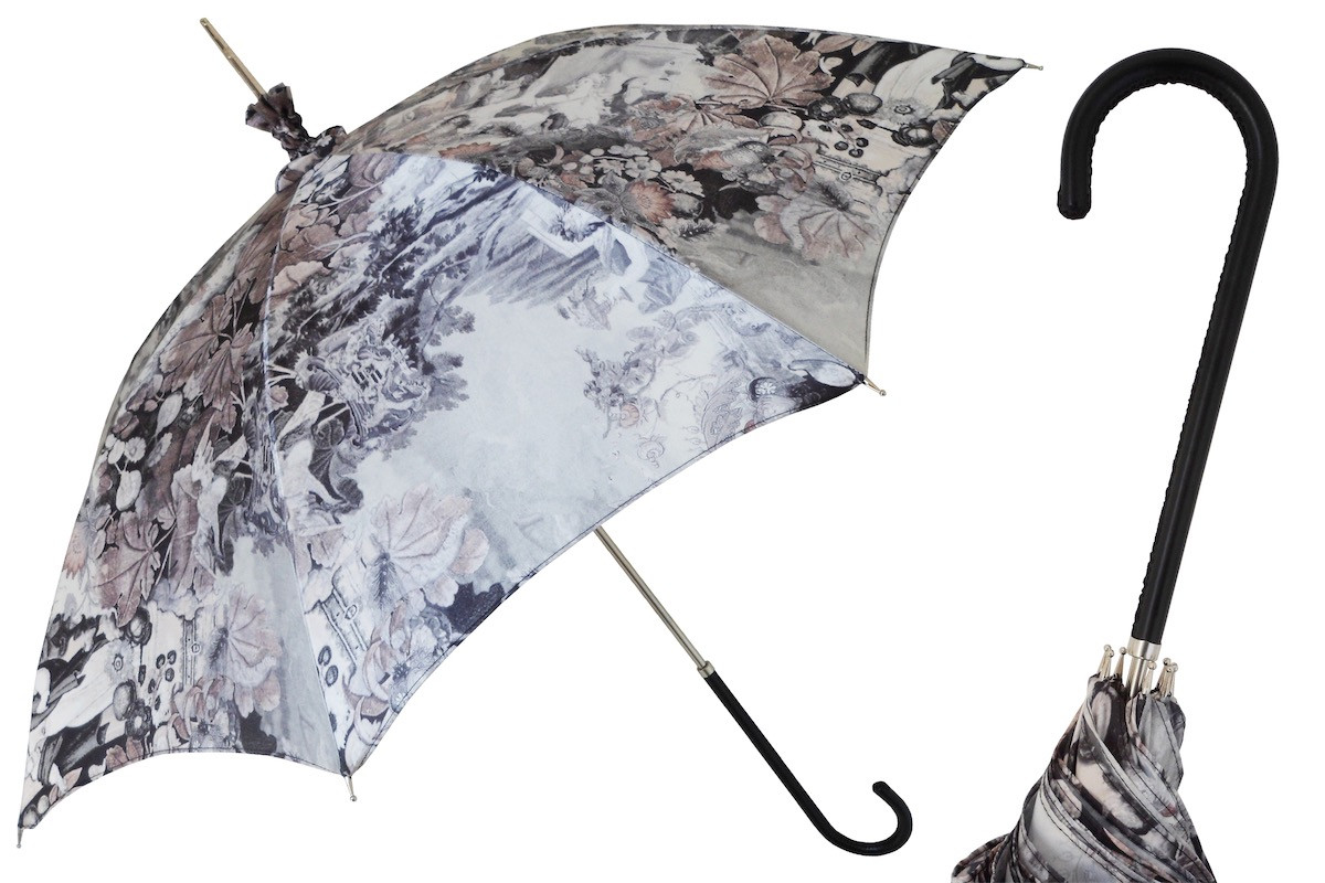 Pasotti Manual Opening Baroque Parasol Rainproof