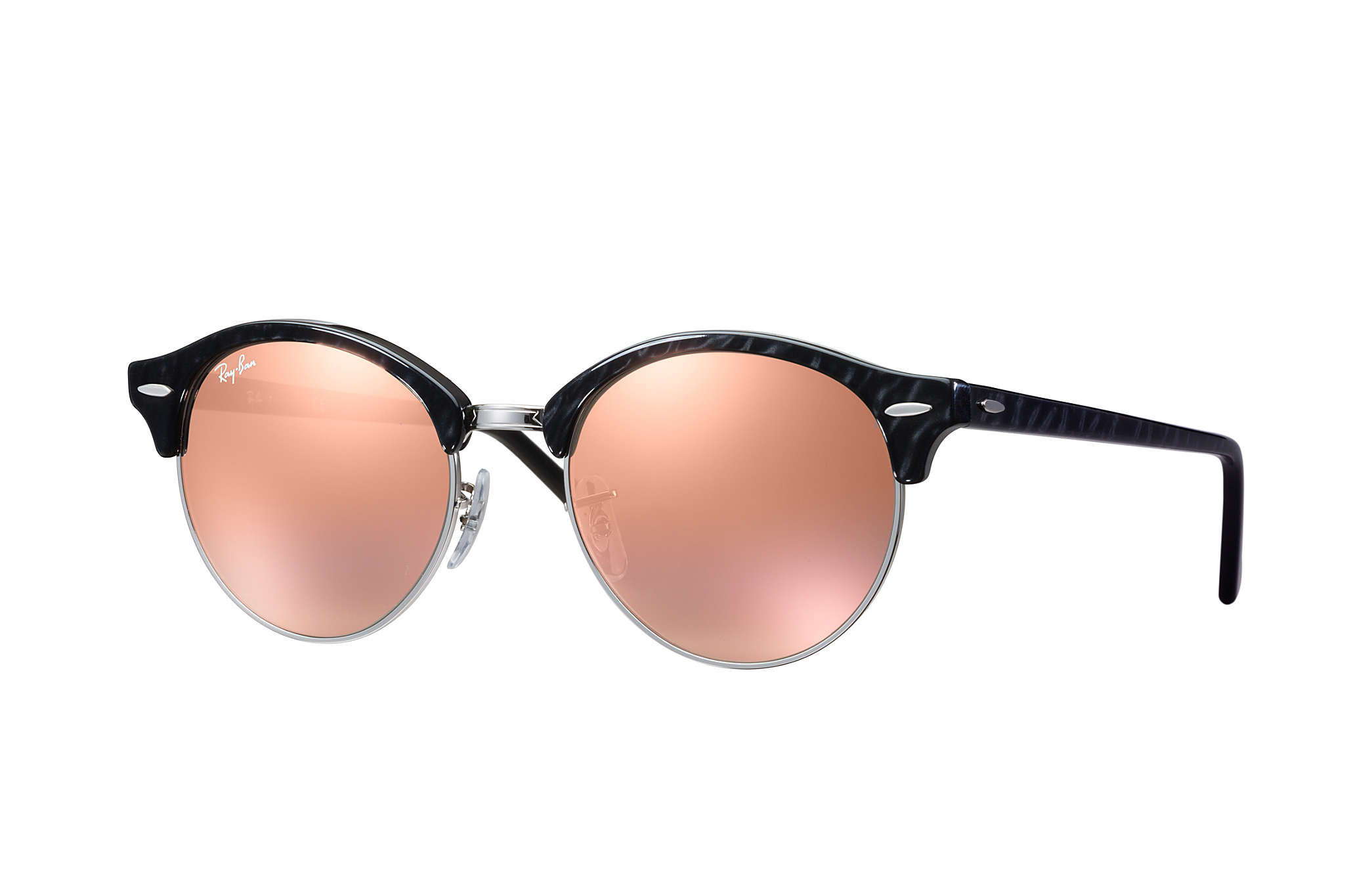 Ray-Ban Clubround Classic - Copper Flash