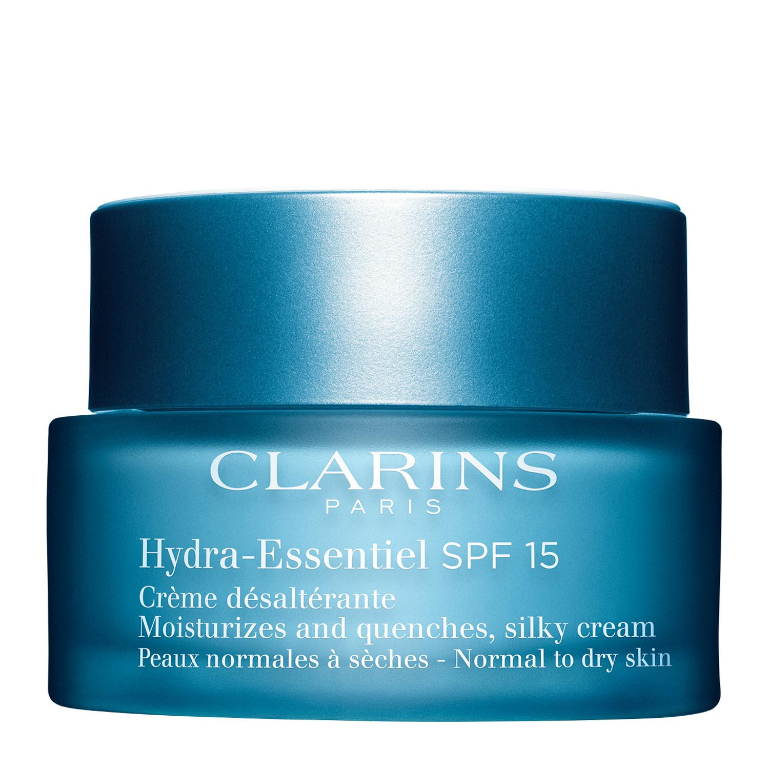 Clarins Hydra-Essentiel Silky Cream SPF 15 - Normal to Dry Skin - 50ml