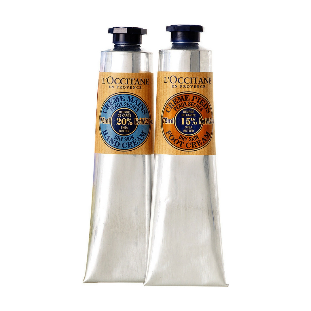 L'Occitane en Provence Shea Butter Hand and Foot Kit