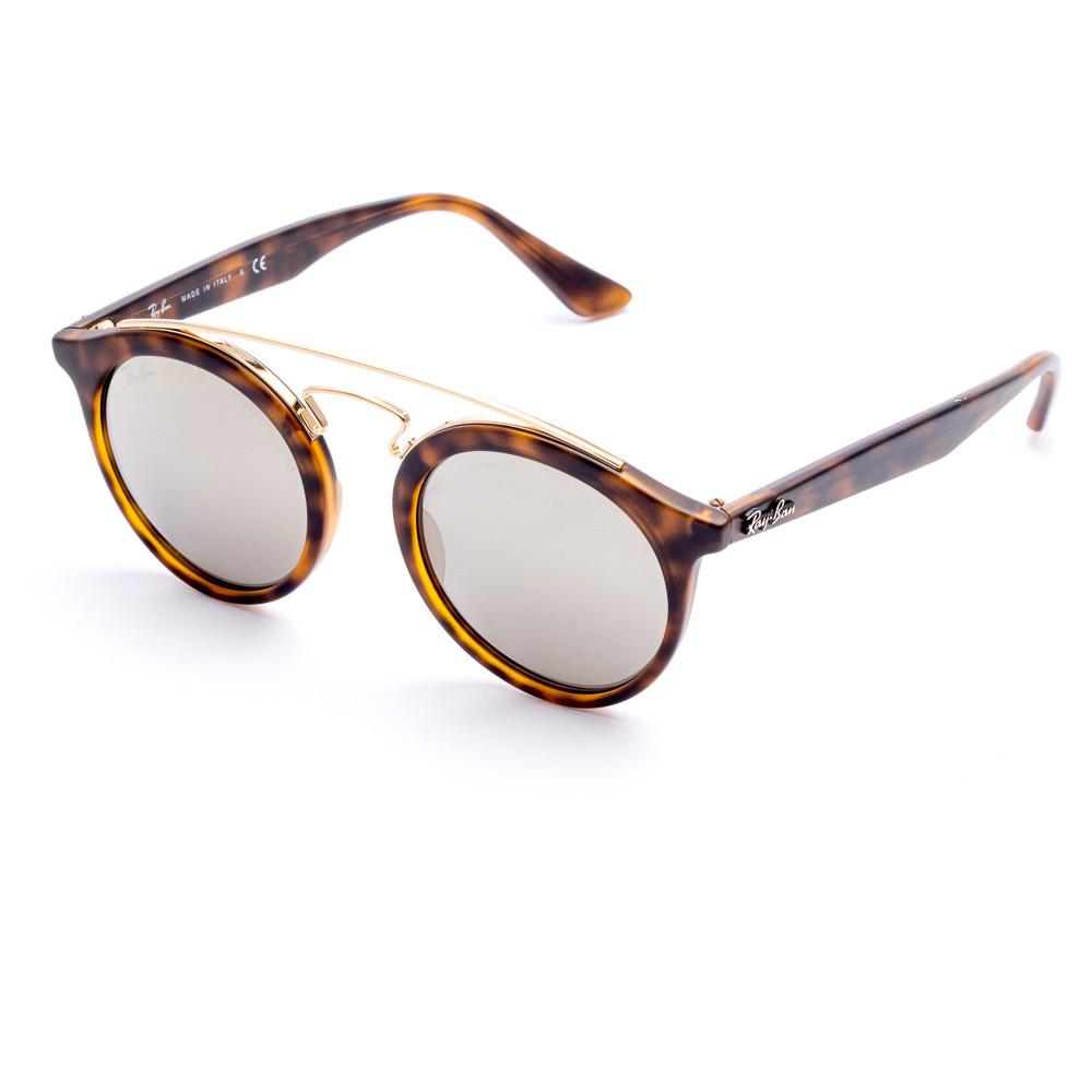 Ray-Ban Gatsby Sunglasses with Gold Lenses - Tortoise Shell