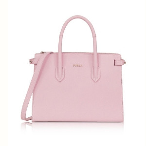Furla Pin Tote S East/West in Camelia