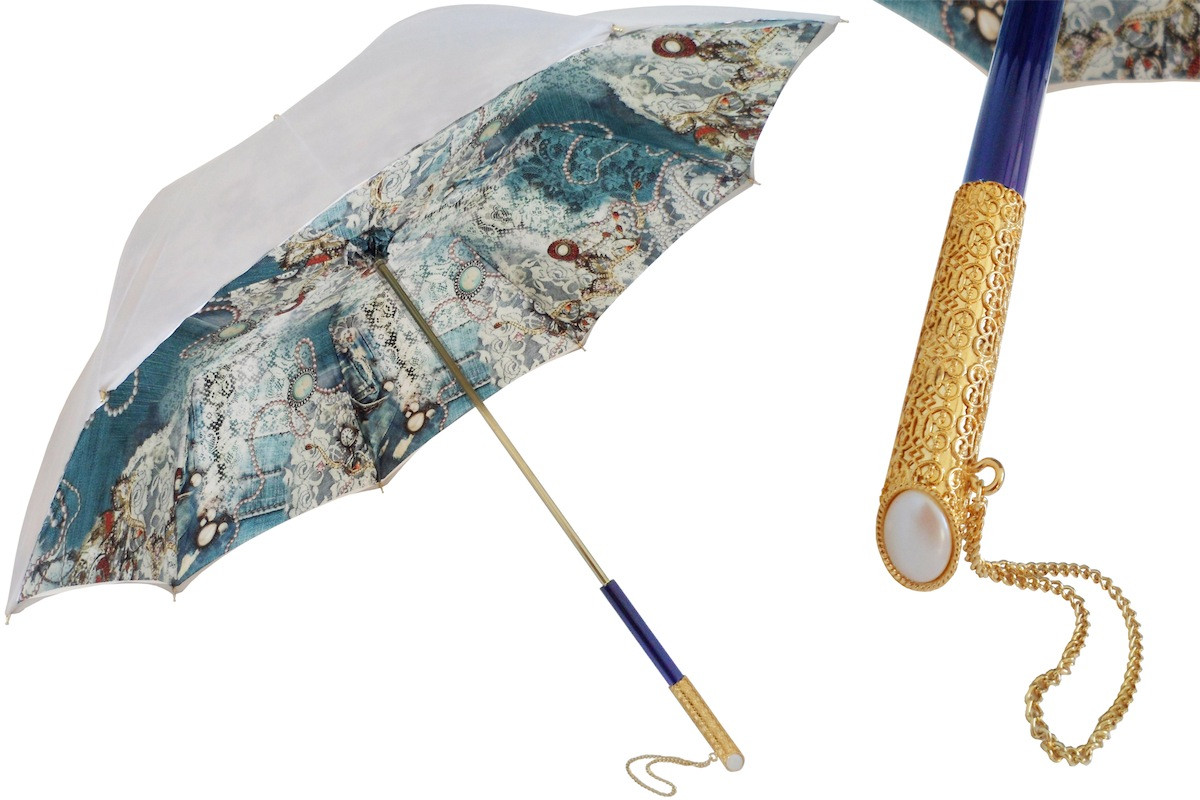 PASOTTI Women Double Cloth Vintage Umbrella