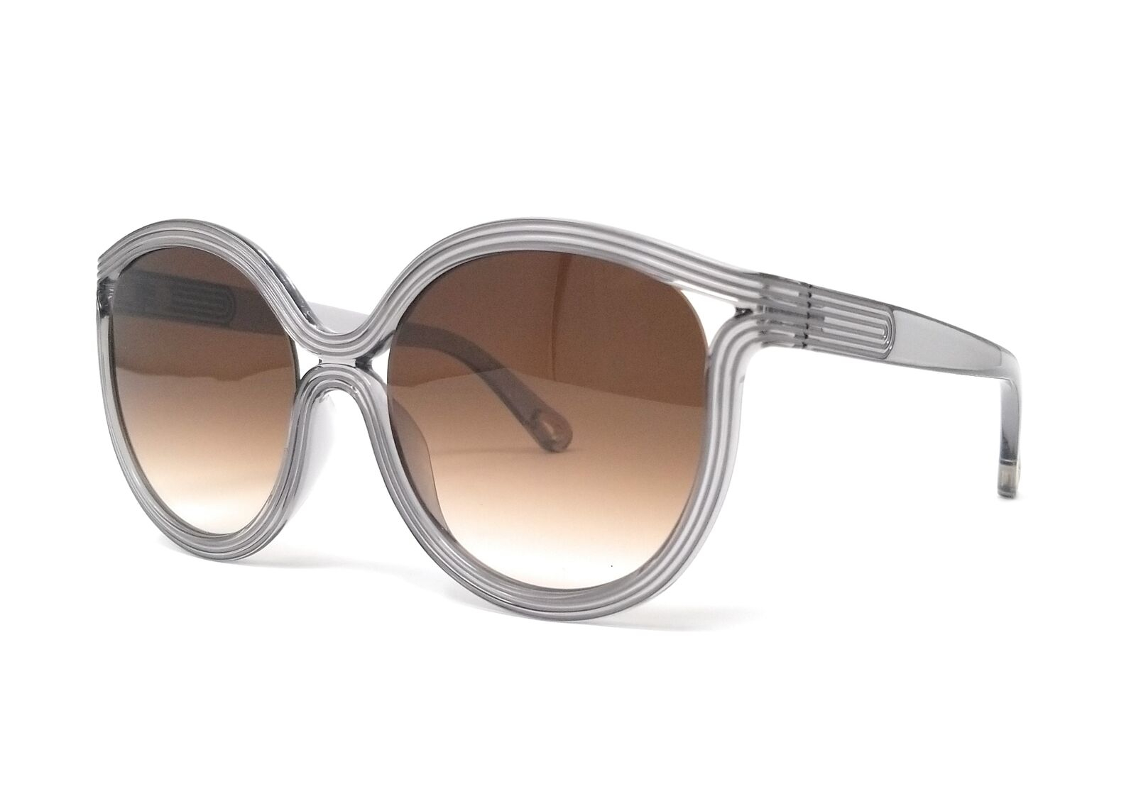 Chloe - CE738S Cat Eye Brown and Grey Sunglasses