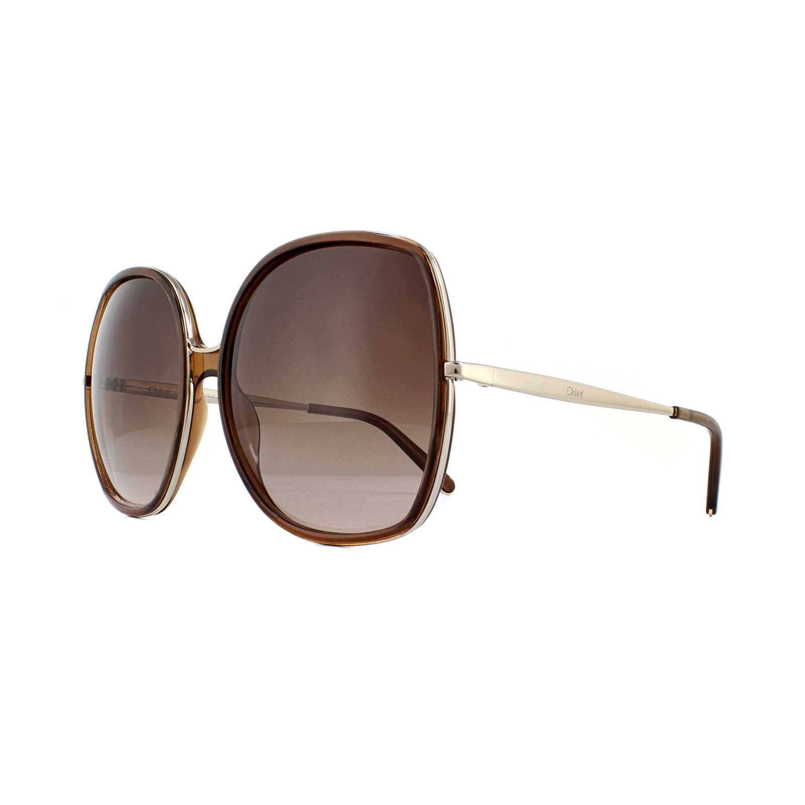 Chloe CE725S 290 - Nude Brown Gradient Sunglasses for Women