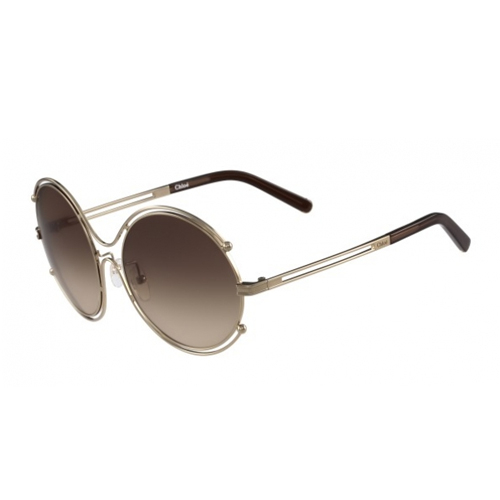 Chloe CE122S 786 - Isidora Women's Sunglasses in Rose Gold/Brown