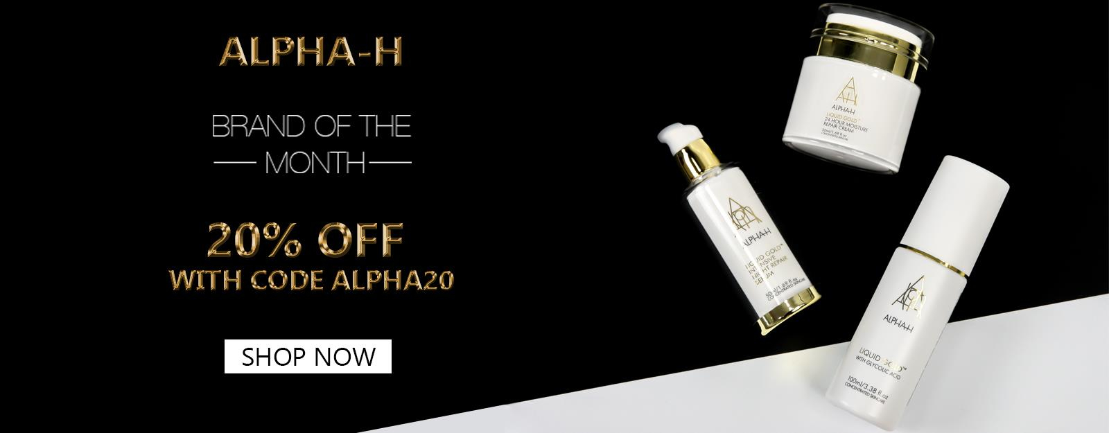Brand of the month - Alpha-H